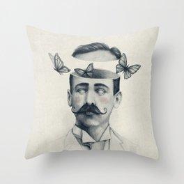 Disorientation Throw Pillow