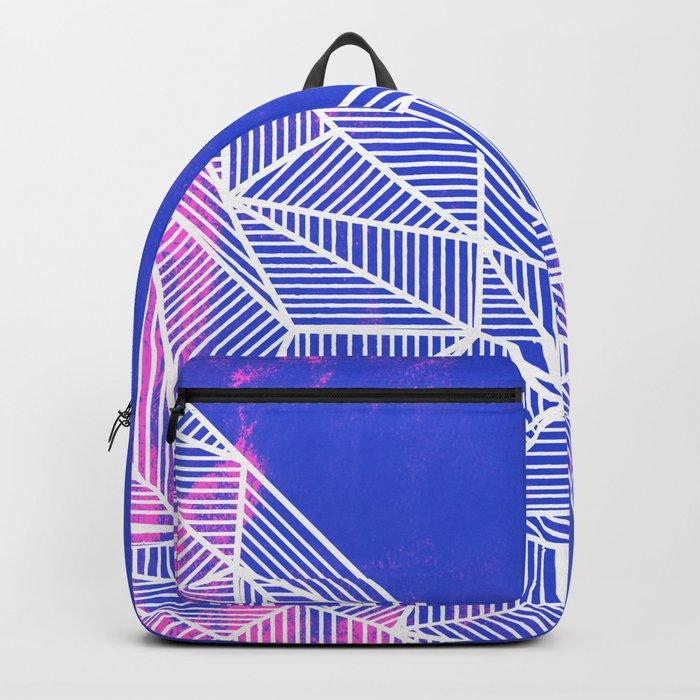 B Rays Geo Punk Backpack