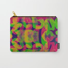 typographic illusion watercolor Carry-All Pouch