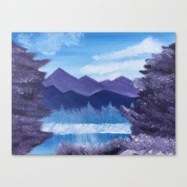 Winter Bliss Canvas Print