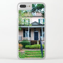 Stewart Parker House Front Clear iPhone Case