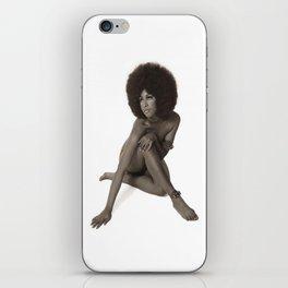 EBONY BEAUTY/ VINTAGE iPhone Skin