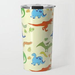Dinosaur Pattern Travel Mug