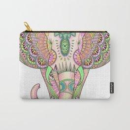 Mandala elephant psicodelic Carry-All Pouch