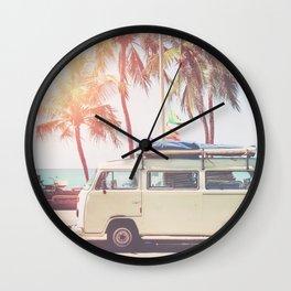 Camper Van Wall Clock