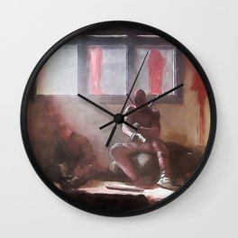 The Merc With A Mouth Stops To Reload - Dead Wall Clock
