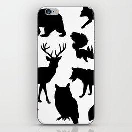 Animal Collage 4 iPhone Skin