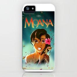 MAYBE MOANA iPhone Case