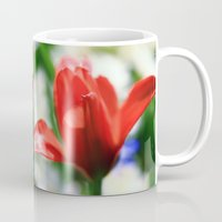 tulips Mugs featuring tulips by Falko Follert Art-FF77
