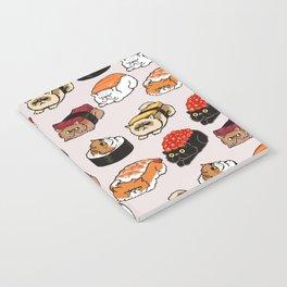 Sushi Persian Cat Notebook