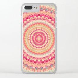 Mandala 281 Clear iPhone Case
