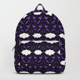 VINT. mandalas black on white Backpack