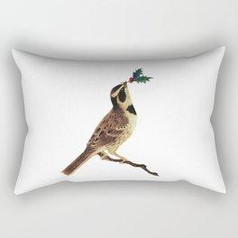 ChristmasBird Rectangular Pillow
