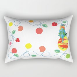 Kitchen bobo bird Rectangular Pillow