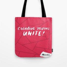 Mommikin Tote w Logo Tote Bag