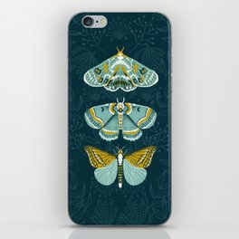 Lepidoptery No. 8 by Andrea Lauren  iPhone Skin
