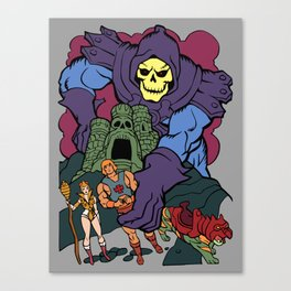Playing With My Toys Canvas Print