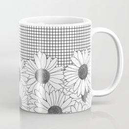 Daisy Grid Coffee Mug