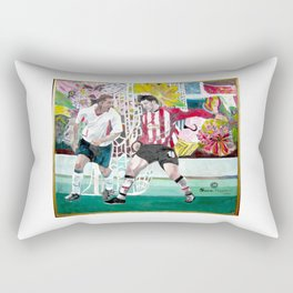 football Enthusiasm Rectangular Pillow