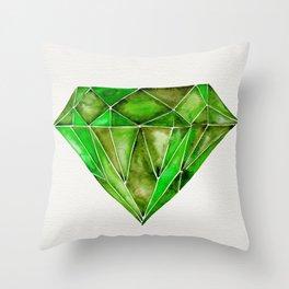 Peridot Throw Pillow