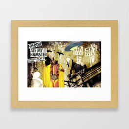 Savages Framed Art Print
