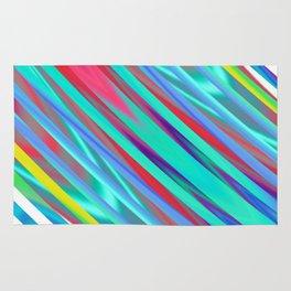 Linear gradience Rug