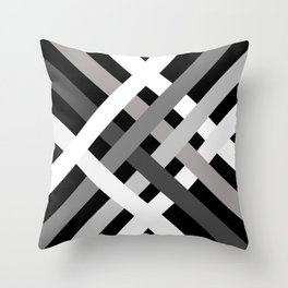 BNW Criss Cross Throw Pillow