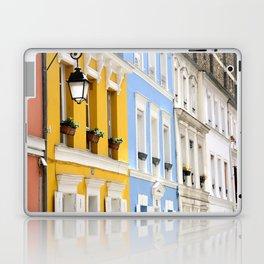 Colorful rue Crémieux, Paris Laptop & iPad Skin