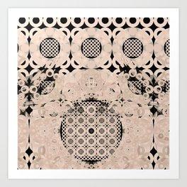 Modern Fractal Abstract 12: Detailism (n+1) Art Print