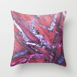 """Bushfire"" Throw Pillow"