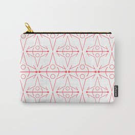 Coral Line Graphic Carry-All Pouch