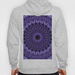 Detailed violet mandala Hoody