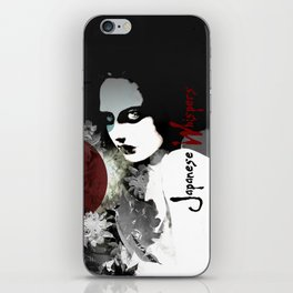 """Japanese Whispers"" iPhone Skin"