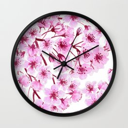 Cherry blossom pattern Wall Clock