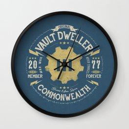 Vault 111 Member Forever Wall Clock
