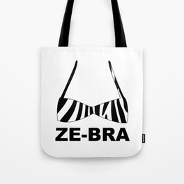 Ze-bra Tote Bag