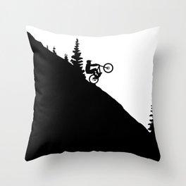MTB 2tone Throw Pillow