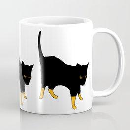 Molly in socks Coffee Mug