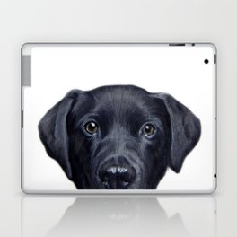 Labrador with white background Dog illustration original painting print Laptop & iPad Skin