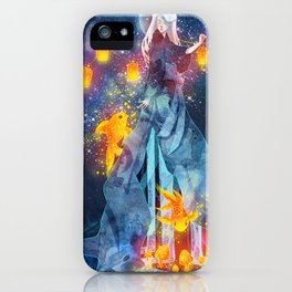 Moon Festival iPhone Case