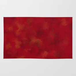 Visaripea - loud red forest Rug