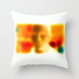 James Negative / Throw Pillow