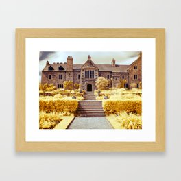 Into the manor Framed Art Print
