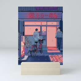 Getting Ramen Mini Art Print