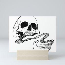 Skull (Grind) Mini Art Print