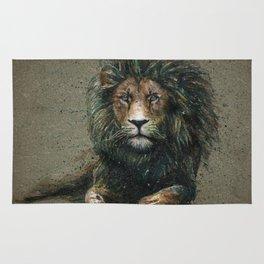 Lion background Rug
