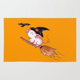 Pigs Fly in Salem Rug