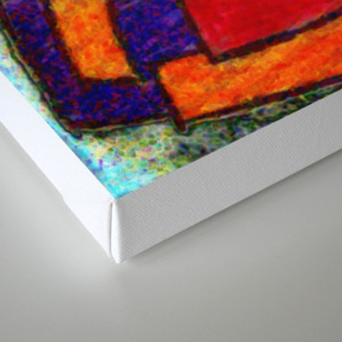 Color Collage  Canvas Print