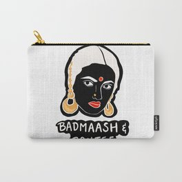 Badmaash and Boujee Carry-All Pouch