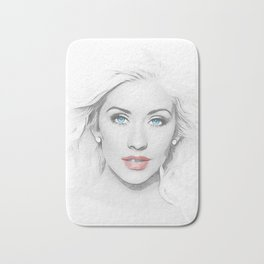 Christina Aguilera - Pop Art Bath Mat